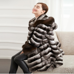 Chinchilla fur coats are considered as high-end luxury products